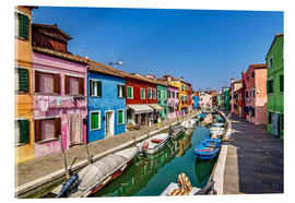 Metacrilato  Fishing village of Burano - Achim Thomae