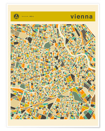 Jazzberry Blue - VIENNA MAP