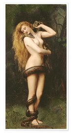 Póster  Lilith - John Collier