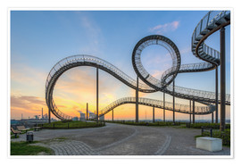 Póster  Tiger and Turtle Duisburg - Michael Valjak