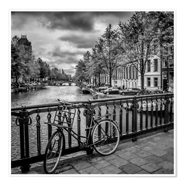 Póster AMSTERDAM Emperors Canal