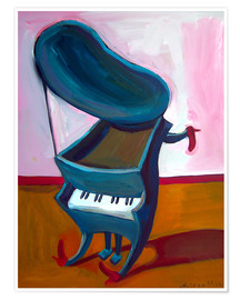 Póster  Little piano - Diego Manuel Rodriguez