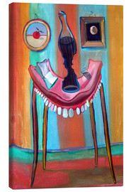 Lienzo  Table with teeth - Diego Manuel Rodriguez