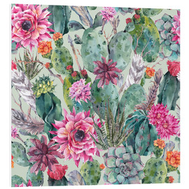 Forex  Cacti in water color