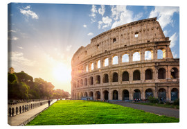 Lienzo  The Colosseum in Rome, Italy - Jan Christopher Becke