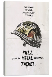 Lienzo  Full metal jacket - 2ToastDesign