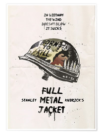 Póster Full metal jacket
