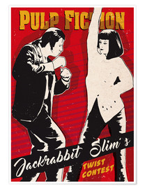 Póster  Pulp fiction, concurso de twist - 2ToastDesign
