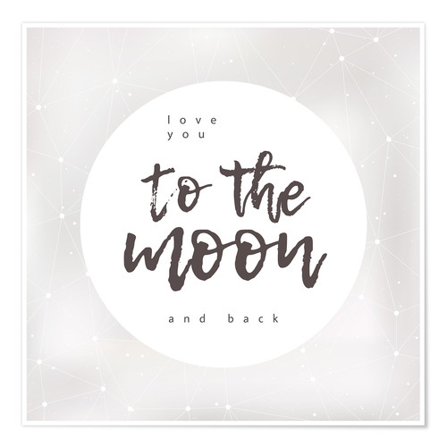Póster To the moon and back