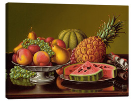 Lienzo  Still Life with Fruit - Levi Wells Prentice