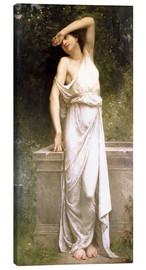 Lienzo  A Classical Beauty by a Well - William Adolphe Bouguereau