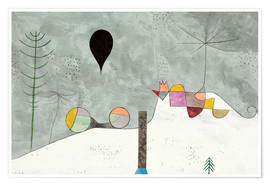 Póster  Winter Picture - Paul Klee