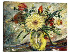 Lienzo  Tribute to Vincent Van Gogh - Joaquin Clausell