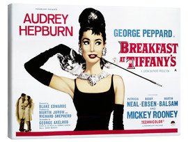 Lienzo  Breakfast at Tiffany's - English School