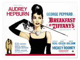 Póster  Breakfast at Tiffany's - English School