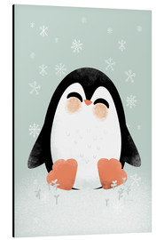 Aluminio-Dibond  Animal Friends - The Penguin - Kanzi Lue