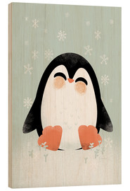 Madera  Animal Friends - The Penguin - Kanzi Lue