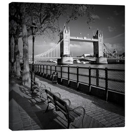 Lienzo  LONDON Tower Bridge - Melanie Viola