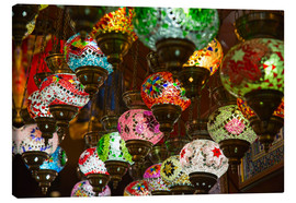 Lienzo  Traditional turkish lamps