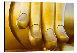 Aluminio-Dibond  Fingers of the Buddha