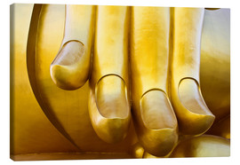 Lienzo  Fingers of the Buddha