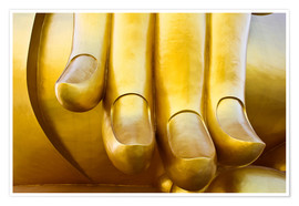 Póster  Fingers of the Buddha