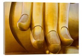 Cuadro de madera  Fingers of the Buddha