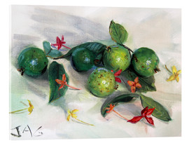 Cuadro de metacrilato  guavas and ixora2 - Jonathan Guy-Gladding