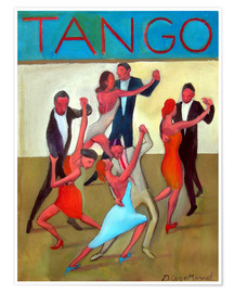Póster The Tango Performance