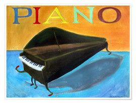 Póster  Piano 2 - Diego Manuel Rodriguez