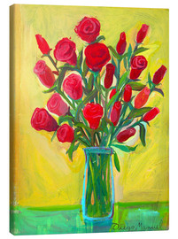 Lienzo  Red roses III - Diego Manuel Rodriguez