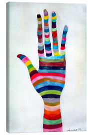 Lienzo  The hand 4 - Diego Manuel Rodriguez