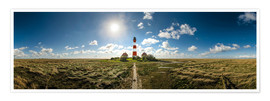 Póster  Lighthouse Westerhever - Michael Haußmann