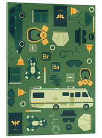 Cuadro de metacrilato  Breaking Bad - Tracie Andrews