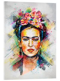 Cuadro de metacrilato  Frida Flower Pop - Tracie Andrews