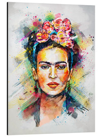 Cuadro de aluminio  Frida Flower Pop - Tracie Andrews