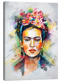 Lienzo  Frida Flower Pop - Tracie Andrews