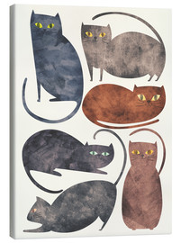 Lienzo  Cats - Tracie Andrews
