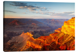 Lienzo  Sunset on Grand Canyon South Rim, USA - Matteo Colombo