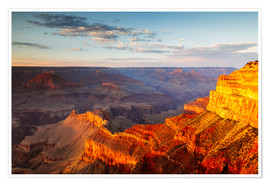 Póster  Sunset on Grand Canyon South Rim, USA - Matteo Colombo