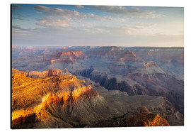 Cuadro de aluminio  Sunrise of Grand Canyon South Rim, USA - Matteo Colombo