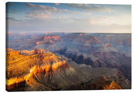 Lienzo  Sunrise of Grand Canyon South Rim, USA - Matteo Colombo