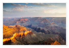 Póster  Sunrise of Grand Canyon South Rim, USA - Matteo Colombo