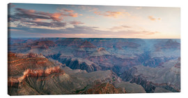 Lienzo  Panoramic sunrise of Grand Canyon, Arizona, USA - Matteo Colombo