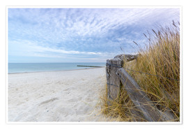 Póster Baltic beach Fehmarn
