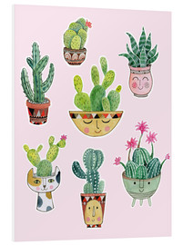 Forex  funny succulents - Janet Broxon
