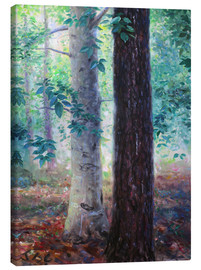 Lienzo  Elm and pine - Jonathan Guy-Gladding