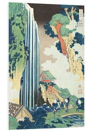 Cuadro de PVC  Ono Waterfall on the Kisokaid?  - Katsushika Hokusai