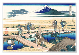Póster nakahara in the sagami province