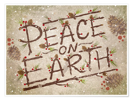 Póster  Peace On Earth - Ashley Verkamp